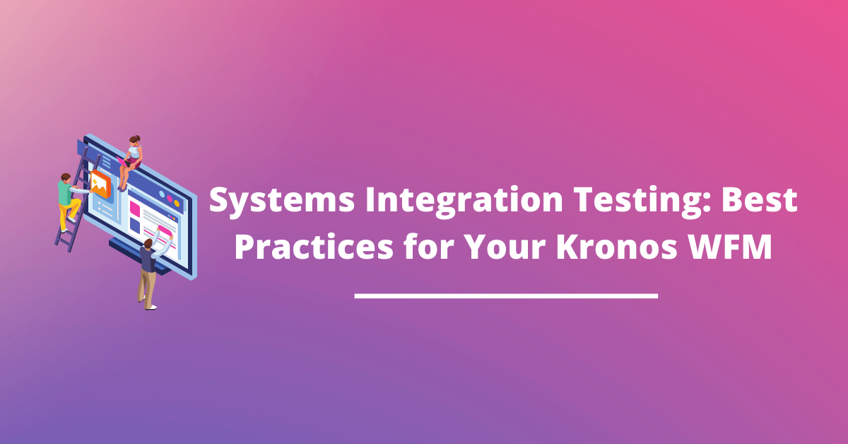 kronos-systems-integration-testing